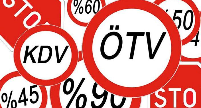 KDV ve ÖTV yeniden belirlendi